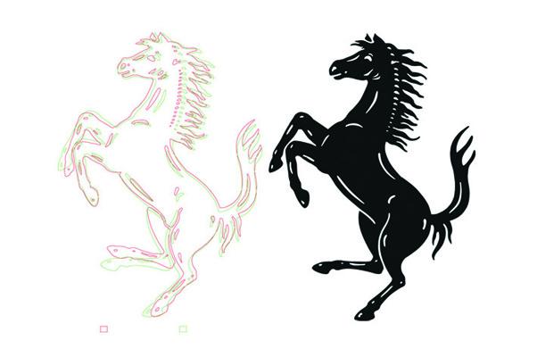 Redesign Ferrari-Logo